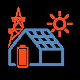 Комплекты гибридных солнечных электростанций
