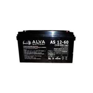 Аккумуляторная батарея Alva AS 12-60 (12 В, 60 А час)
