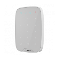 Беспроводная клавиатура Ajax KeyPad
