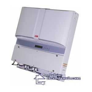 Сетевой преобразователь напряжения ABB PVI-12.5-TL-OUTD (12.5 кВт, 2 МРРТ, Италия)
