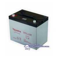 Гелевая аккумуляторная батарея Toyama NPG80-12
