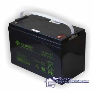 Аккумуляторная батарея B.B Bettary BC100-12