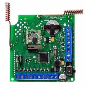 Приемник проводных датчиков Ajax ocBridge Plus