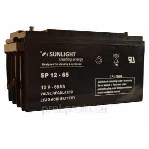 Аккумуляторная батарея SUNLIGHT SPb-65Ah