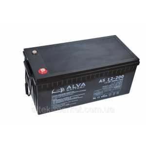 Аккумуляторная батарея Alva AS 12-200 (12 В, 200 А час)