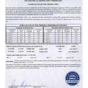 Солнечный коллектор AXIOMA energy AX-10HP24