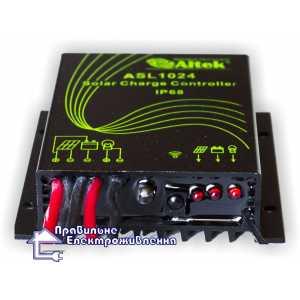 Контроллер заряда ASL1024 с пультом ДУ