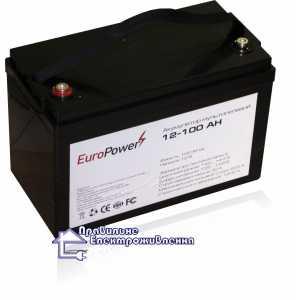 Аккумуляторная батарея EuroPower 12-100 Ah