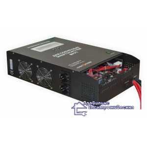 Инвертор напряжения + MPPT контроллер LPY-C-PSW 3000