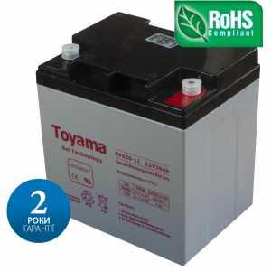 Гелевая аккумуляторная батарея Toyama NPG26-12