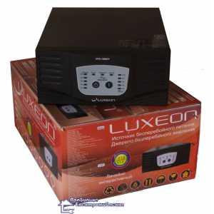 Источник бесперебойного питания LUXEON UPS-1500ZY