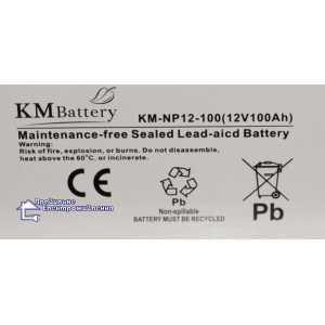 Аккумуляторная батарея KM-NP 12-100