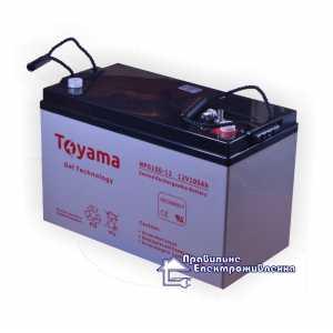 Гелевая аккумуляторная батарея Toyama NPG100-12