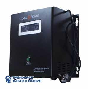 Источник бесперебойного питания LogicPower LPY-W-PSW 500VA+