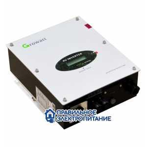 Сетевой преобразователь GROWATT 3000 S (1 фаза)