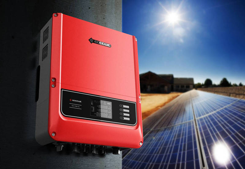 gw12k dt three phase solar inverter